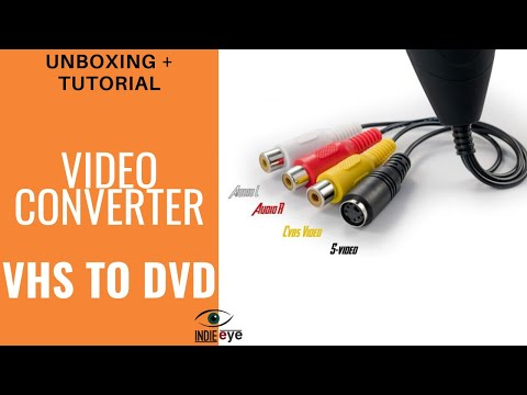 Convertitore da VHS a DVD - Video Grabber Techside:  video unboxing e tutorial