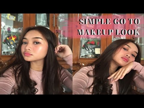 simple go to makeup look || gabriellawhelly thumbnail
