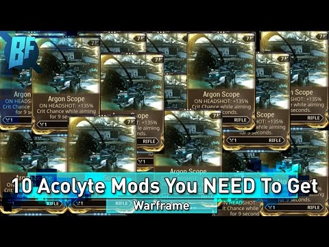 Warframe: 10 Stalker Acolyte Mods You NEED To Have