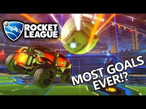 MOST GOALS EVER! - ROCKET LEAGUE