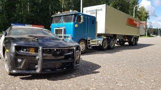 Тормознули фуру, а там .......   Прицеп за 30 000 руб. для грузовика (Tamita RC Truck)(, 2018-08-24T04:51:43.000Z)