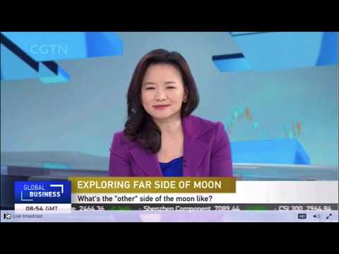 ChangE'4 Report On CGTN At 08:54 GMT On 03/01/2019