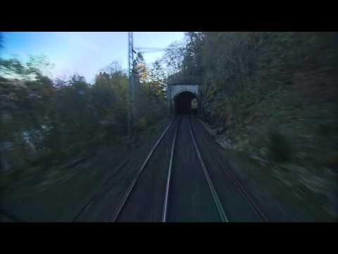 Bergensbanen minutt for minutt Bergen–Oslo (full HD 50fps)