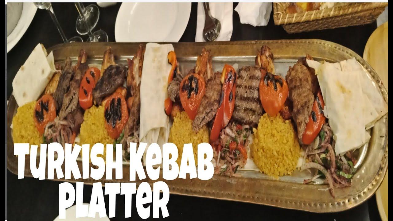 Turkish Kebab Platter Youtube