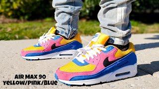 Air Max 90 Recraft Yellow/Pink/Blue