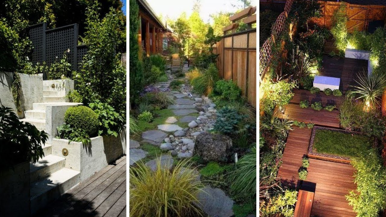 10 Clever Ideas How To Build Small Backyard Landscape Ideas Youtube