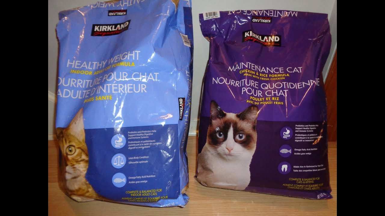 Nature S Domain Vs Kirkland Signature Cat Food