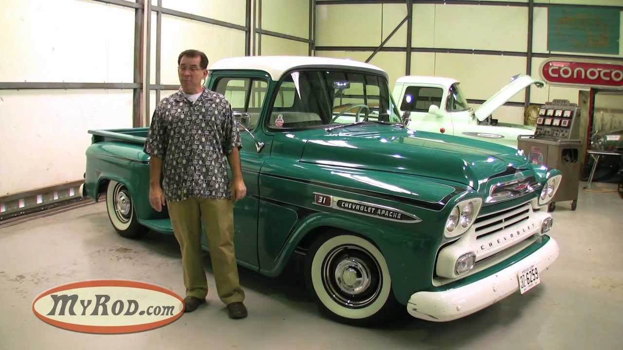 1959 Apache Truck 283 V8 (Old School shop vibe with killer patina ...