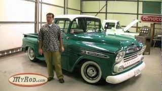 1959 Apache Truck 283 V8 (Old School shop vibe with killer patina!) - MyRod.com