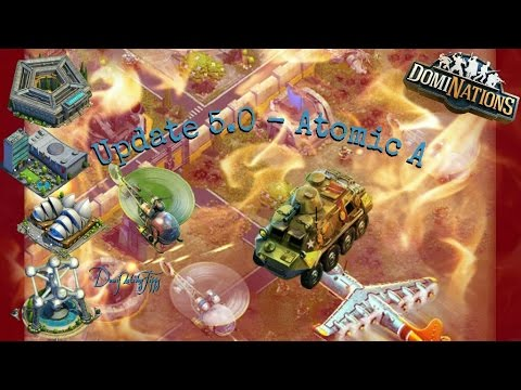 #253. DomiNations - Update 5.0 Atomic Age! Helicopter, APC and much more!