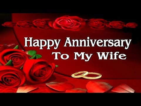 Happy anniversary to my wife free for her ecards greeting cards happy anniversary to my wife is a great romantic anniversary song with strong love messages to celebrate m4hsunfo