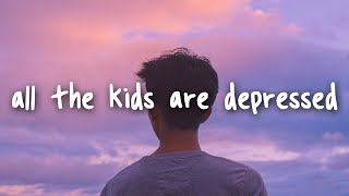 Jeremy Zucker - all the kids are depressed // Lyrics thumbnail