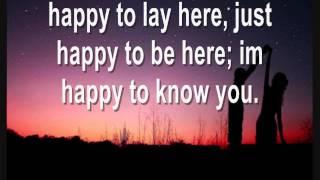 Joshua Radin - Paperweight (Lyrics on screen)