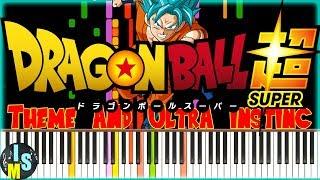 ''Dragon Ball - Theme & Ultra Instinct'' ISM Synthesia
