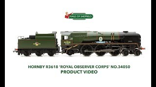 Hornby R3618 Royal Observer Corps No 34050 Rebuilt Battle of Britain