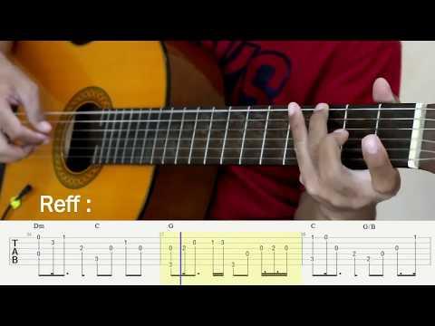 Tentang Rindu - Virzha - Fingerstyle Guitar Tutorial - TAB