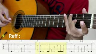 Download Video Tentang Rindu - Virzha - Fingerstyle Guitar Tutorial - TAB MP3 3GP MP4