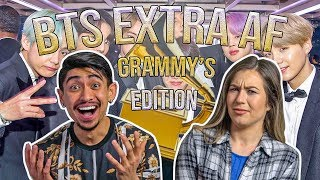 BTS Being Extra Af At The Grammys (and on crack?) - Couples Reaction