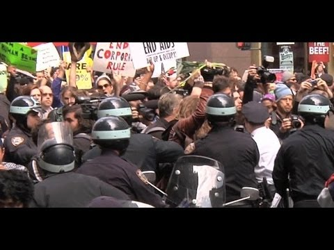What We Saw at Occupy Wall Street's May Day Protest in NYC