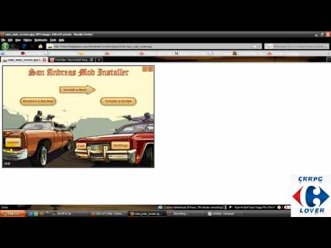 How to install San Andreas Mod Installer