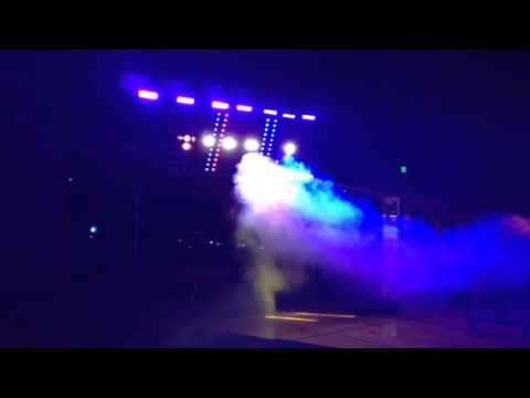 Coeur d Alene high school light show