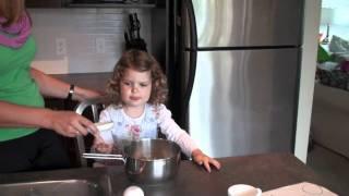 Sophie's Peach Upside Down Cake