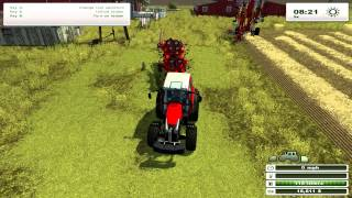 Farming simulator - Windrower and tedder guide