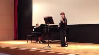 Excerpt of Beethoven Kreutzer Sonata IX 4th mov. - Dr. Roumena Georgieva accompanied by Dr. Chung