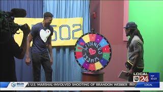 Memphis Grizzlies' Bruno Caboclo hosts game show for children at Le Bonheur