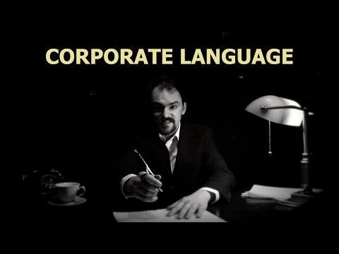 Corporate Language: Jargon & Buzzwords