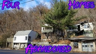Four Abandoned Homes - Lots Of Unanswered Questions