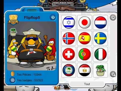 Club penguin compte rare membre gratuit youtube - Club penguin gratuit ...
