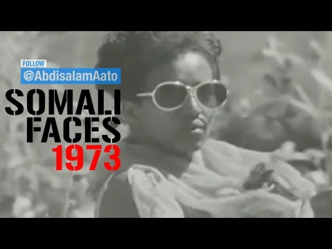 How Somali People Use To Dress & Looked 1973