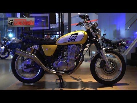 Yamaha SR400 Meeting ปะทะสำนักแต่งญี่ปุ่น Thruxton Dell-Sara Kid's garage