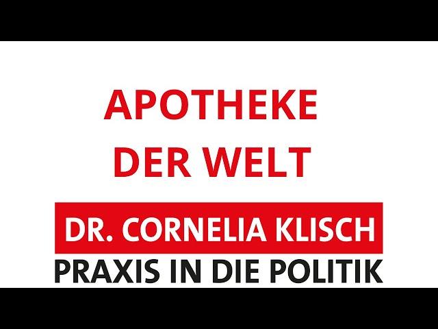 Apotheke der Welt - Dr. Cornelia Klisch - #thueringen