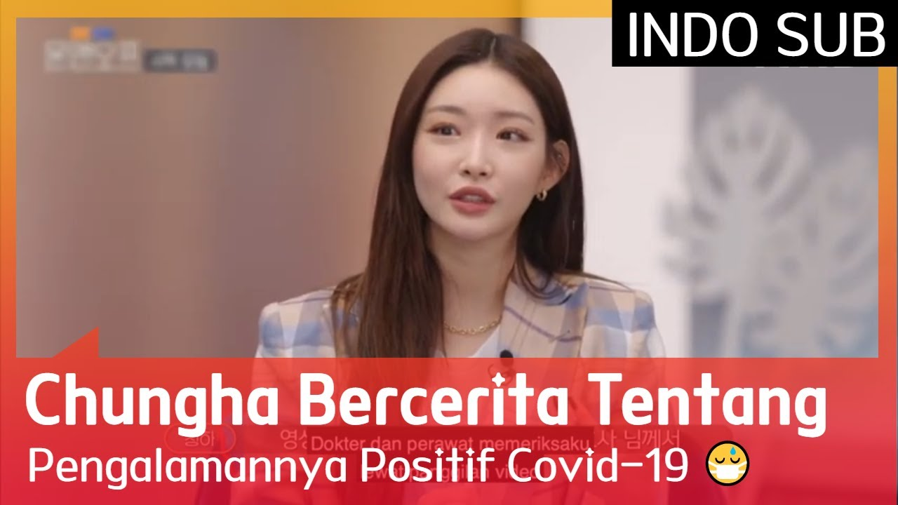 Chungha Bercerita Tentang Pengalamannya Positif Covid-19 😷 #On&Off 🇮🇩INDOSUB🇮🇩