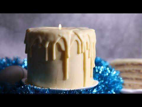 ПРАЗДНИЧНЫЙ ТОРТ-СВЕЧА🔥БАВАРСКИЙ ЯБЛОЧНЫЙ ТОРТ 🔥очень вкусный рецепт🔥 Bavarian apple cake