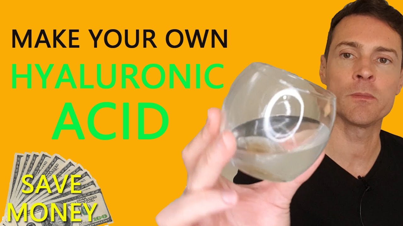 How to make Hyaluronic acid (and why it's better than buying it)