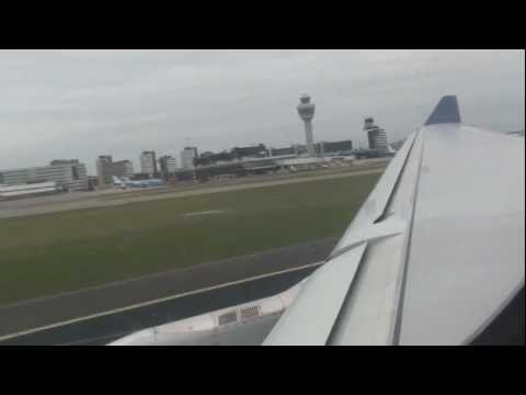 Delta Airlines - Take Off Amsterdam Schiphol Airbus A330-300