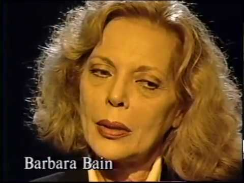 Barbara Bain--Rare 1992 TV Interview, Mission Impossible