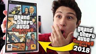 ASI ES JUGAR GTA CHINATOWN WARS EN 2018!! Grand Theft Auto PSP