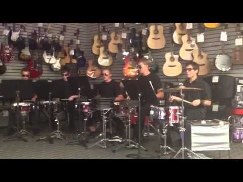 Music & Arts Percussion Group Aug 2013