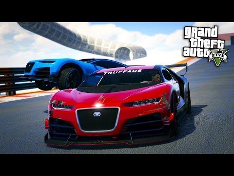 GTA Online: Top 5 Best Super Cars for Stunt Races!