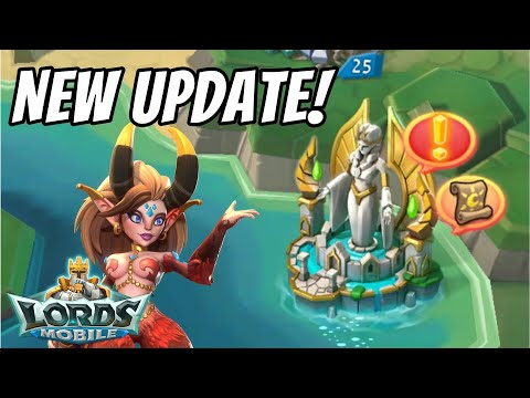 New Update & Hero Review! - Lords Mobile