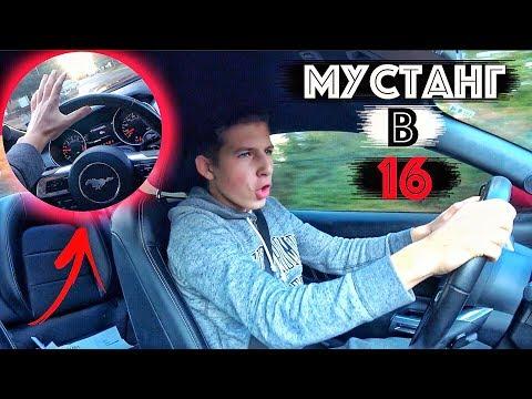 Как Я Вожу Мустанг В 16