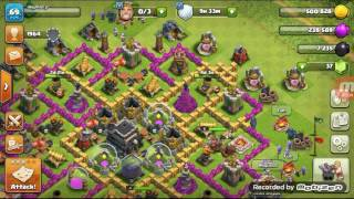 Clash of clans lm the noob