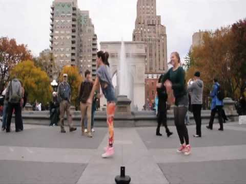 KPOP in NYC (Miss A - Breathe Dance Cover)