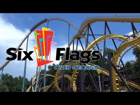 The Roller Coasters of Six Flags Over Georgia with The Legend