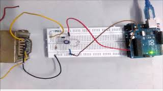 How to make a Digital A.C Voltmeter using Arduino.