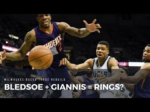 Could Giannis & Bledsoe Bring Rings? - Milwaukee Bucks NBA 2K18 MyLeague Trade Rebuild
